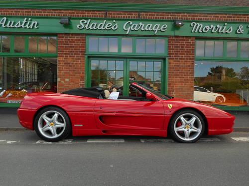 1999 Ferrari 355 Spider F1 SOLD (picture 1 of 5)