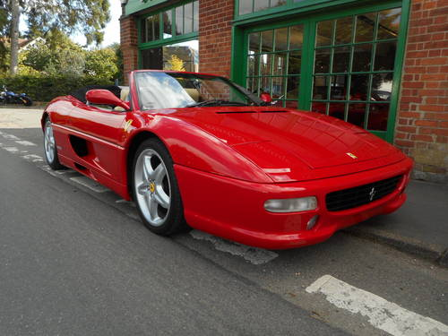 1999 Ferrari 355 Spider F1 SOLD (picture 2 of 5)