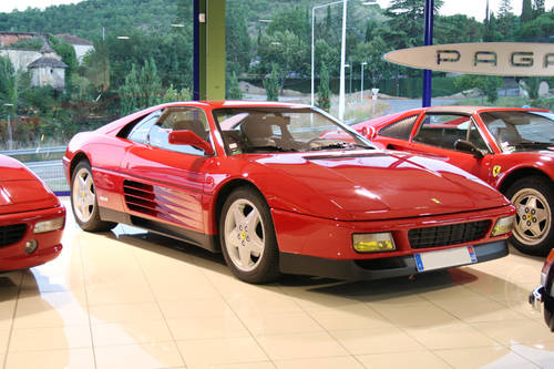 1991 Ferrari 348 TB - LHD -Top Condition - Low mileage SOLD (picture 1 of 6)