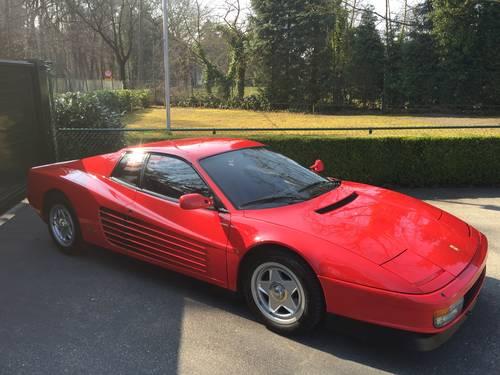 1986 Ferrari Testarossa For Sale (picture 1 of 6)