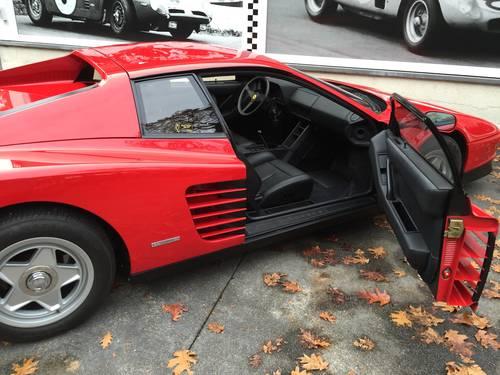 1986 Ferrari Testarossa For Sale (picture 3 of 6)