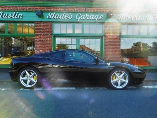 2000 Ferrari 360 Coupe F1 For Sale (picture 1 of 4)