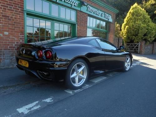 2000 Ferrari 360 Coupe F1 For Sale (picture 3 of 4)
