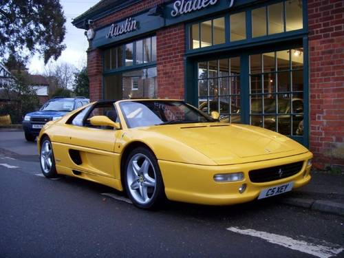1998 Ferrari 355 GTS Coupe Manual  For Sale (picture 2 of 4)