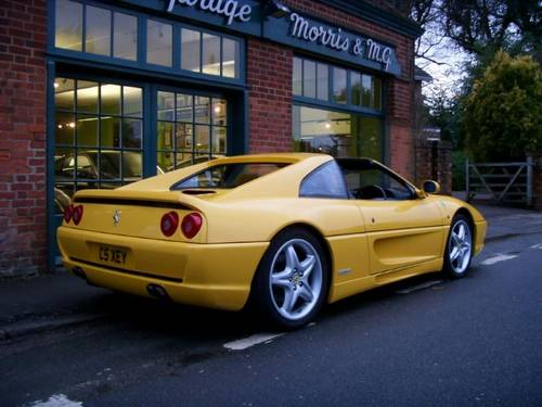 1998 Ferrari 355 GTS Coupe Manual  For Sale (picture 3 of 4)
