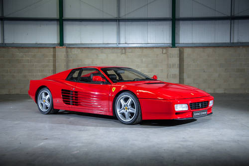 1992 Ferrari 512 TR LHD only 29k KMS For Sale (picture 1 of 6)