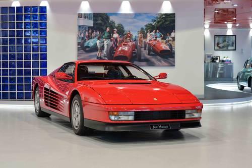1988 Ferrari Testarossa Monodado For Sale (picture 1 of 6)