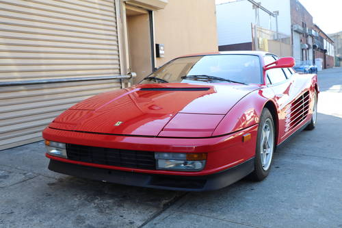 1985 Ferrari Testarossa For Sale (picture 1 of 5)