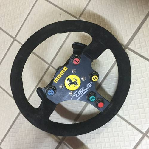 1995 Michael Schumacher used steering wheel For Sale (picture 3 of 3)