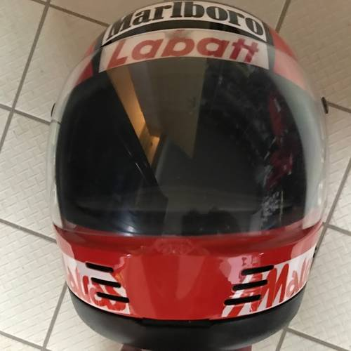 1979 Gilles Villeneuve Bell II helmet For Sale (picture 3 of 6)