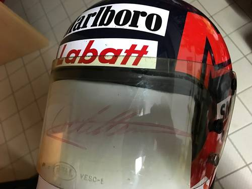 1979 Gilles Villeneuve Bell II helmet For Sale (picture 5 of 6)