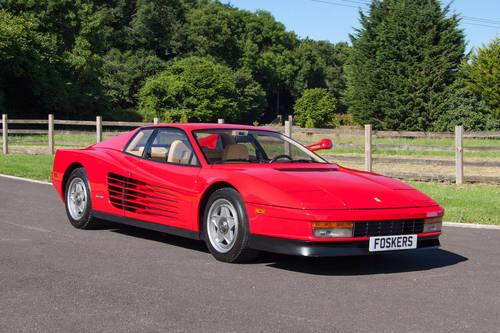 1985 Ferrari Testarossa Monospechio For Sale (picture 1 of 6)