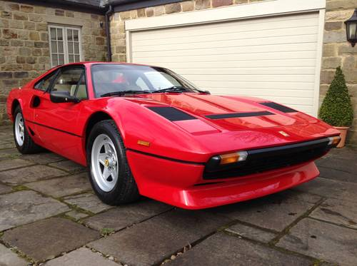 1982 Ferrari 208 GTB Turbo Coupe ~ LHD For Sale (picture 1 of 6)