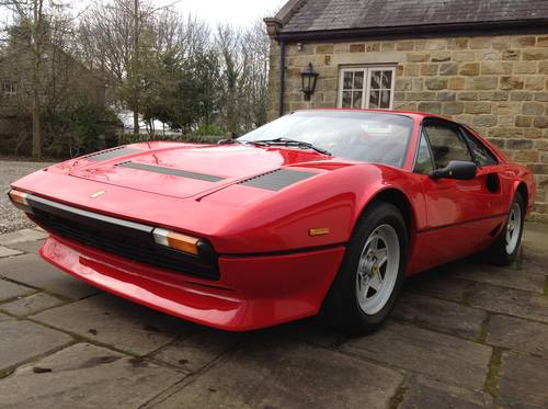 1982 Ferrari 208 GTB Turbo Coupe ~ LHD For Sale (picture 2 of 6)