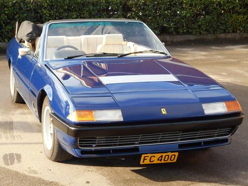 1979 Ferrari 400 Cabriolet RHD For Sale (picture 1 of 6)