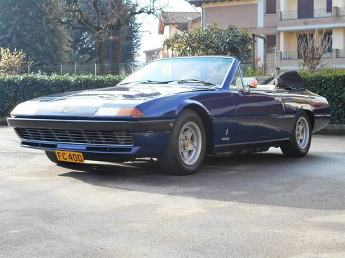 1979 Ferrari 400 Cabriolet RHD For Sale (picture 4 of 6)
