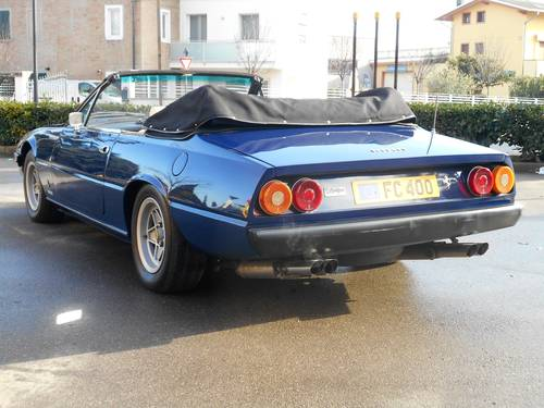 1979 Ferrari 400 Cabriolet RHD For Sale (picture 6 of 6)