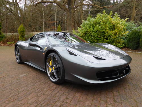 2012 Ferrari 458 Italia in Surrey For Sale (picture 1 of 6)