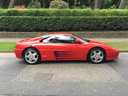 Ferrari 348tb LHD (1992) FSH Stunning Condition For Sale (picture 1 of 6)