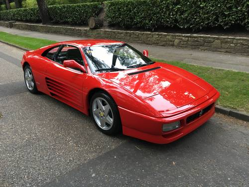 Ferrari 348tb LHD (1992) FSH Stunning Condition For Sale (picture 2 of 6)