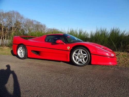 FERRARI F50 fFOR SALE IN THE UK For Sale (picture 1 of 1)