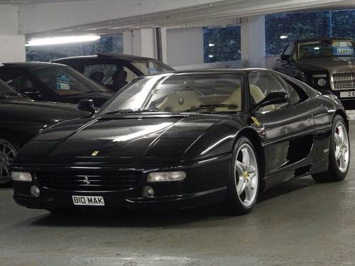 1998 Ferrari F355 3.5 Berlinetta 2dr GTB F1 RHD FIORANO PACK For Sale (picture 4 of 6)