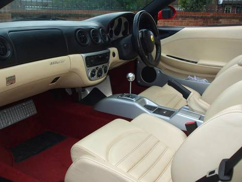 6106 FERRARI 360 SPIDER MANUAL 18K MILES STUNNING For Sale (picture 4 of 6)