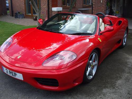 6106 FERRARI 360 SPIDER MANUAL 18K MILES STUNNING For Sale (picture 5 of 6)