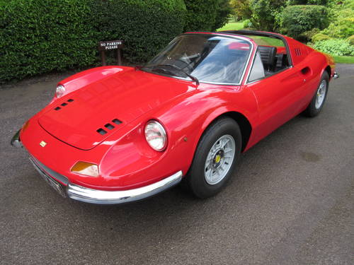 1973 Dino Ferrari 246 GTS -Matching numbers For Sale (picture 1 of 6)