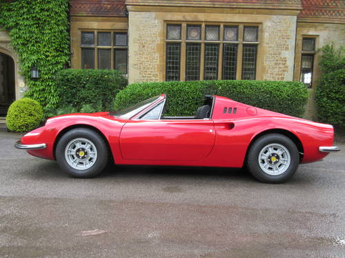1973 Dino Ferrari 246 GTS -Matching numbers For Sale (picture 2 of 6)
