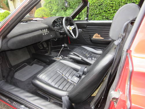1973 Dino Ferrari 246 GTS -Matching numbers For Sale (picture 4 of 6)