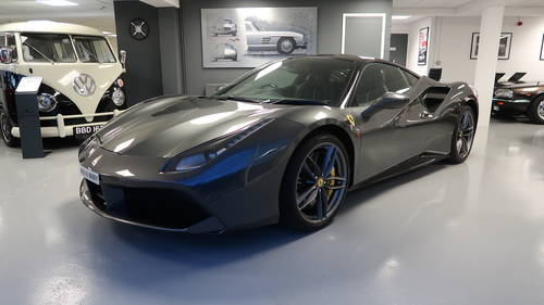 2016 Ferrari 488 GTB 1,500 miles - £55,000 Options For Sale SOLD (picture 1 of 6)