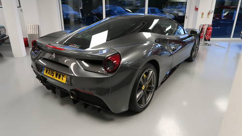 2016 Ferrari 488 GTB 1,500 miles - £55,000 Options For Sale SOLD (picture 2 of 6)