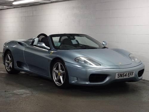 2004 Ferrari 360 3.6 Spider ** MANUAL ** RHD ** CONVERTIBLE For Sale (picture 1 of 6)