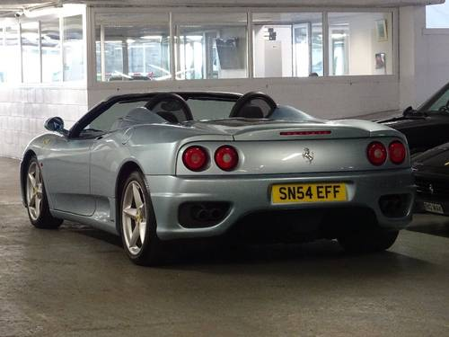 2004 Ferrari 360 3.6 Spider ** MANUAL ** RHD ** CONVERTIBLE For Sale (picture 2 of 6)