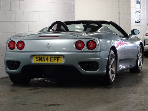 2004 Ferrari 360 3.6 Spider ** MANUAL ** RHD ** CONVERTIBLE For Sale (picture 3 of 6)