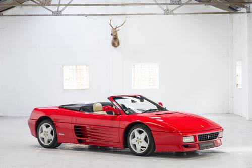 1994 Ferrari 348 Spider RHD 1 of 68 Made! SOLD (picture 1 of 6)