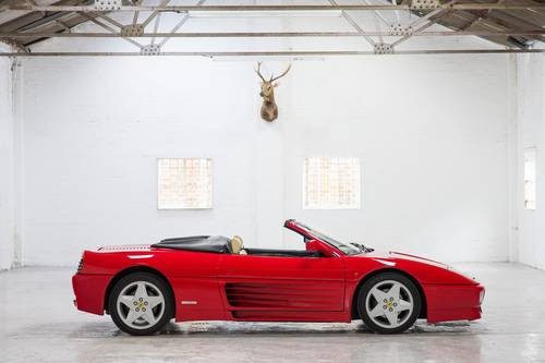 1994 Ferrari 348 Spider RHD 1 of 68 Made! SOLD (picture 2 of 6)