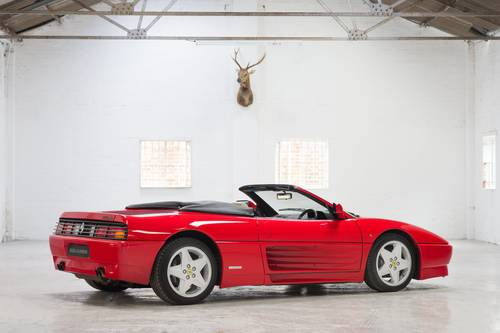 1994 Ferrari 348 Spider RHD 1 of 68 Made! SOLD (picture 3 of 6)