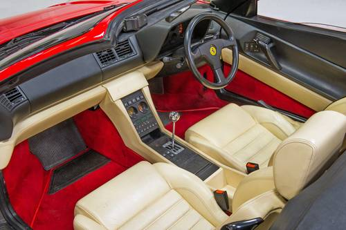 1994 Ferrari 348 Spider RHD 1 of 68 Made! SOLD (picture 4 of 6)