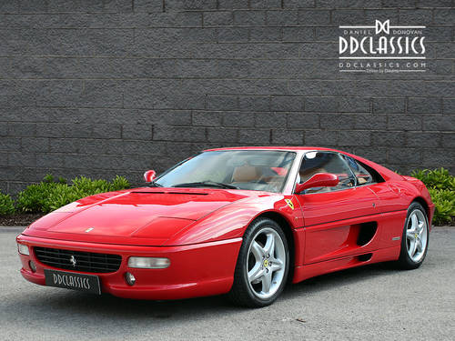 1998 Ferrari F355 Berlinetta F1 (LHD) SOLD (picture 1 of 6)