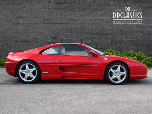 1998 Ferrari F355 Berlinetta F1 (LHD) SOLD (picture 2 of 6)