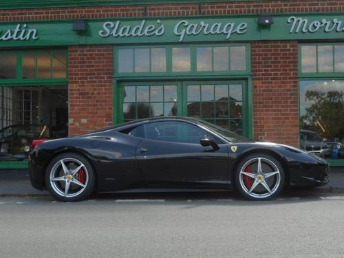 2010 Ferrari 458 Italia DCT Coupe  SOLD (picture 1 of 4)