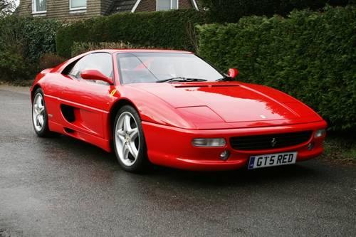 1995 Ferrari 355 GTS Manual For Sale (picture 1 of 6)