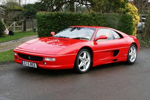 1995 Ferrari 355 GTS Manual For Sale (picture 4 of 6)