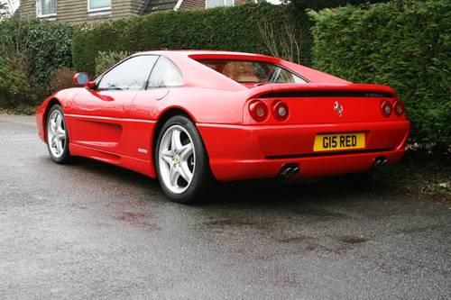1995 Ferrari 355 GTS Manual For Sale (picture 5 of 6)
