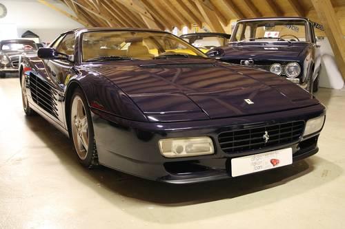 1996 Ferrari Testarossa 512 TR / blu scuro / very rare! For Sale (picture 2 of 6)