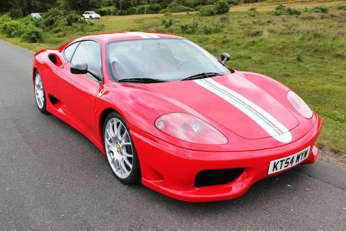 2004 Ferrar 360 Challenge Stradale Classiche Cerified For Sale (picture 1 of 6)