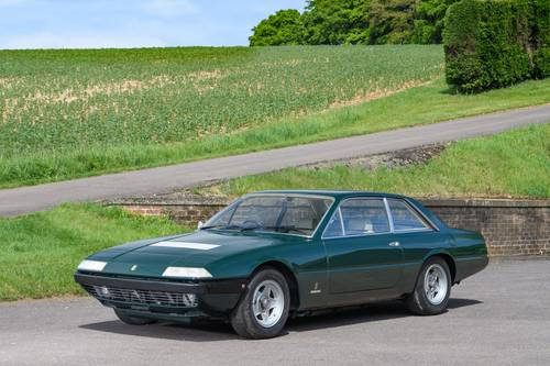1975 Ferrari 365 GT4 2+2 RHD Verde Seabird (Green) SOLD (picture 1 of 6)
