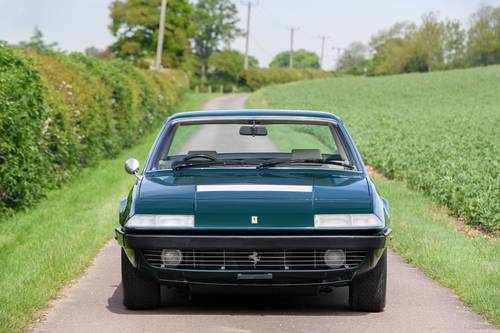 1975 Ferrari 365 GT4 2+2 RHD Verde Seabird (Green) SOLD (picture 2 of 6)
